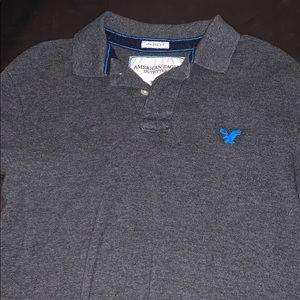 Men's American Eagle Collared Shirt